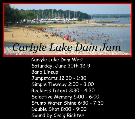 Carlyle Lake Dam Jam 6-30-18