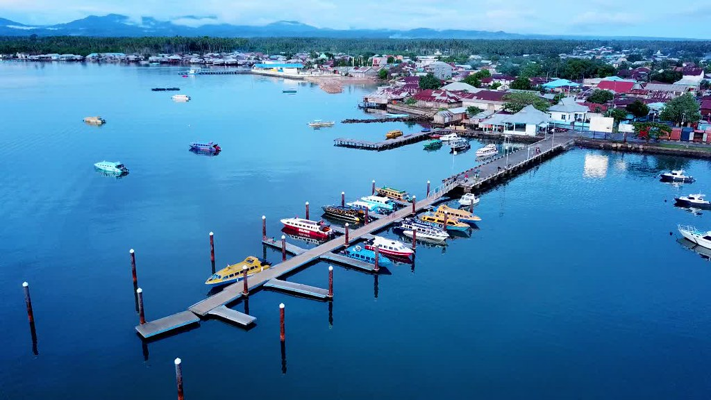 Daruba Harbour, Morotai Island, North Moluccas