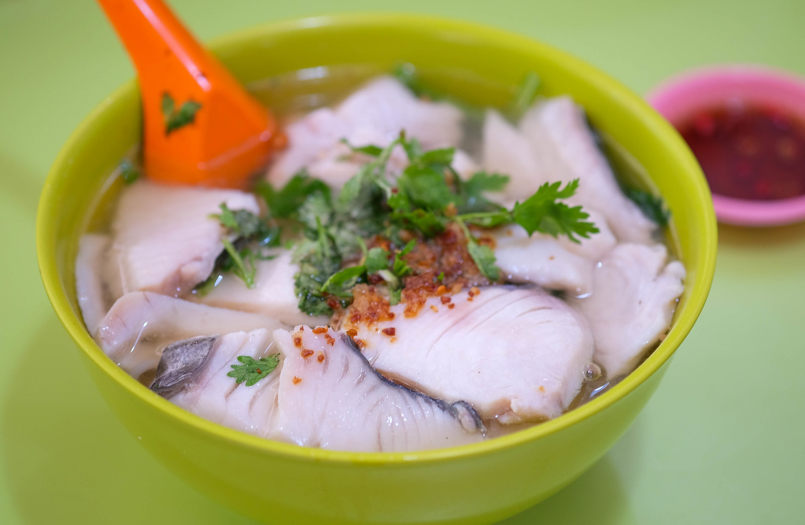 amoy street food centre Fish soup_1
