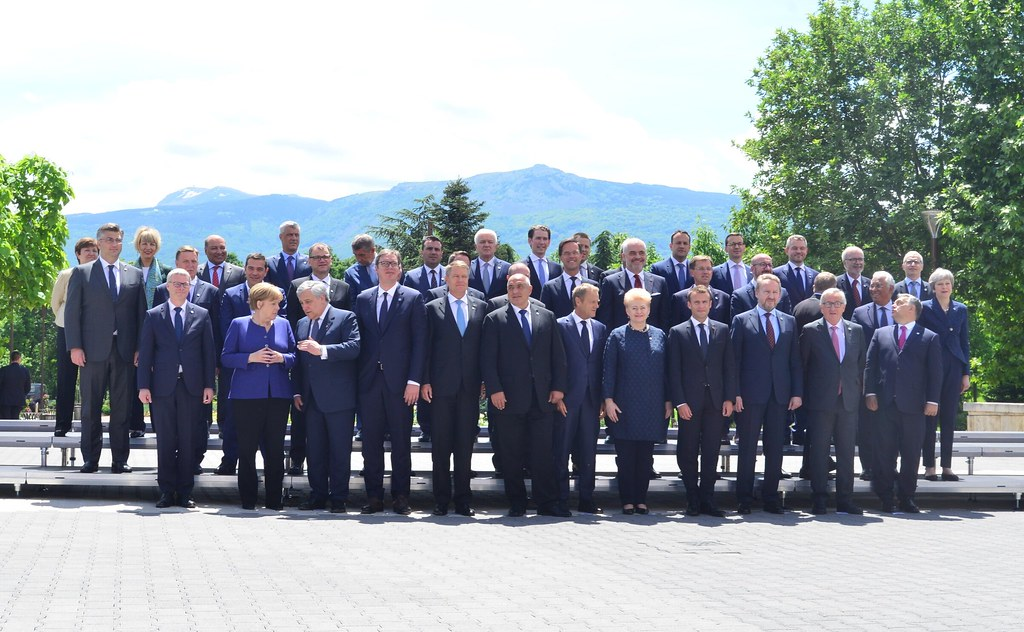 Среща на върха ЕС – Западни Балкани:  Семейна снимка