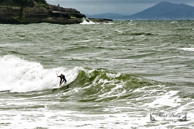 Anglet au bord de l'océan Atlantique, Côte Basque, Pyrénées-Atlantiques