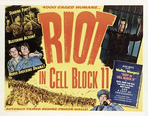 Riot in Cell Block 11 - Poster 4