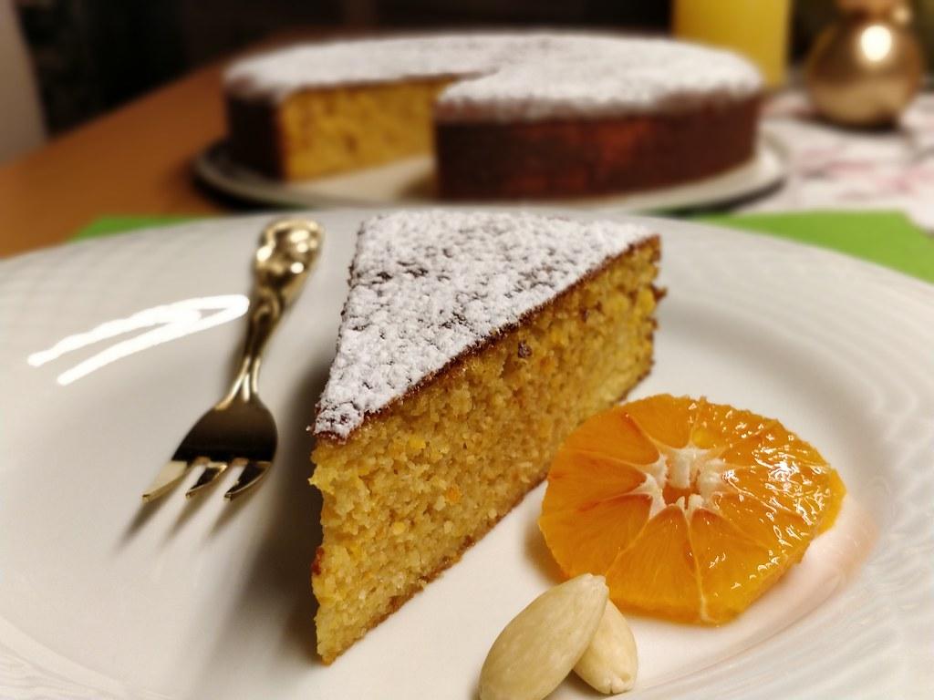 Spanischer Orangen-Mandel-Kuchen