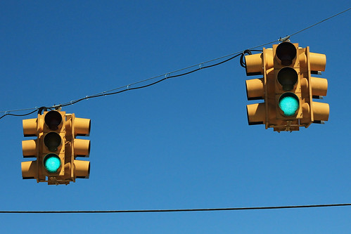 MS8 East - Traffic Lights - Calhoun City