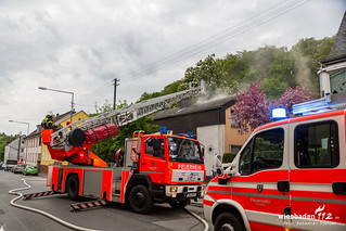 Dachstuhlbrand Rambach 28.04.18