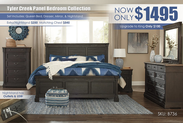 Tyler Creek Bedroom Set_B736-31-36-46-78-56-97-91-Q424
