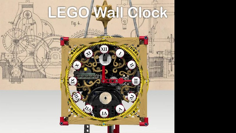 LEGO Ideas Wall Clock