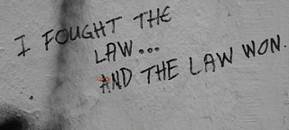 """""""I fought the law and the law won"""" Singapore, The Substation, 2018"""