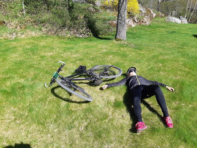 Strängnäsrundan - 65km på cykel - cyklisten