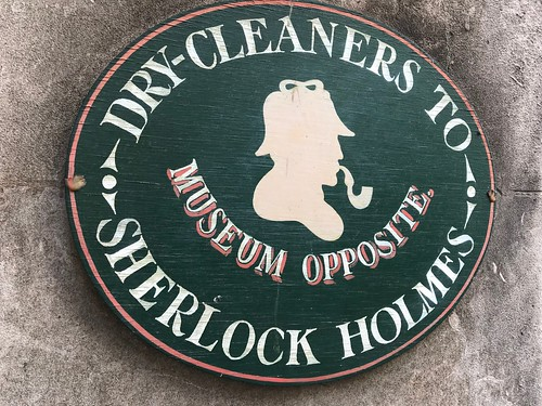 Dry-Cleaners to Sherlock Holmes
