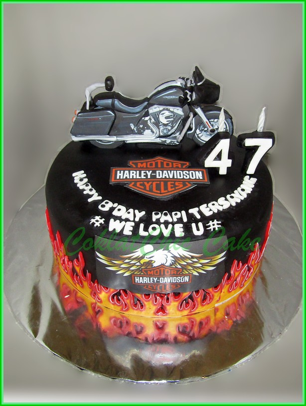 Cake Harley Davidson PAPI 22 cm