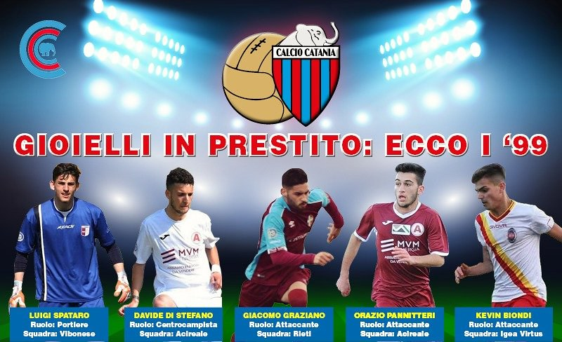 Da sx: Spataro, Di Stefano, Graziano, Pannitteri e Biondi (grafica a cura di Bruno Marchese)