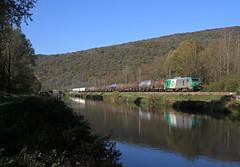 Güterzug am Doubs