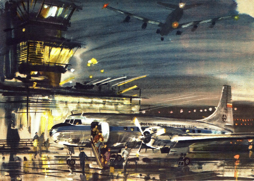 Janusz Grabiański - LOT - Polish Airlines - Convair-240
