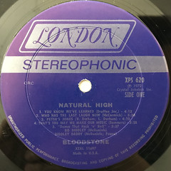 BLOODSTONE:NATURAL HIGH(LABEL SIDE-A)