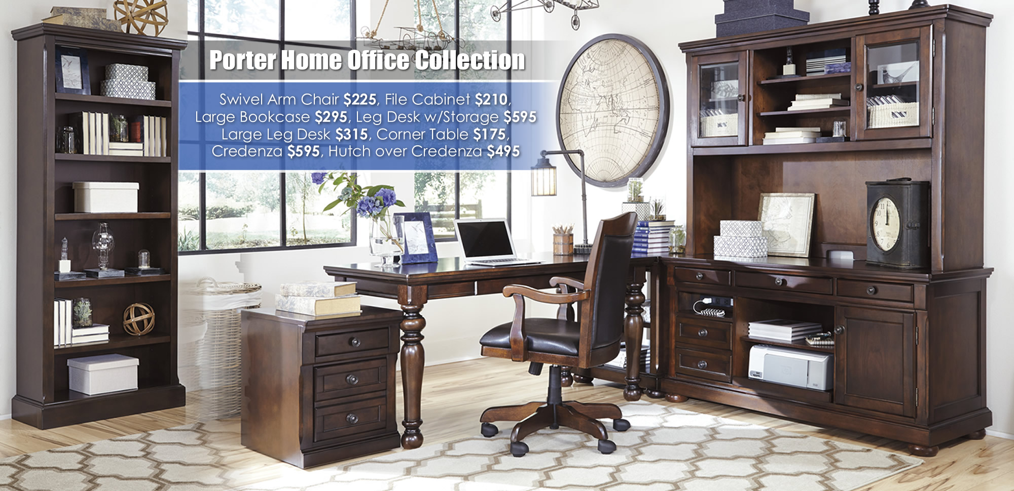 porter home office collection h697 44 49 47 46 12 01a