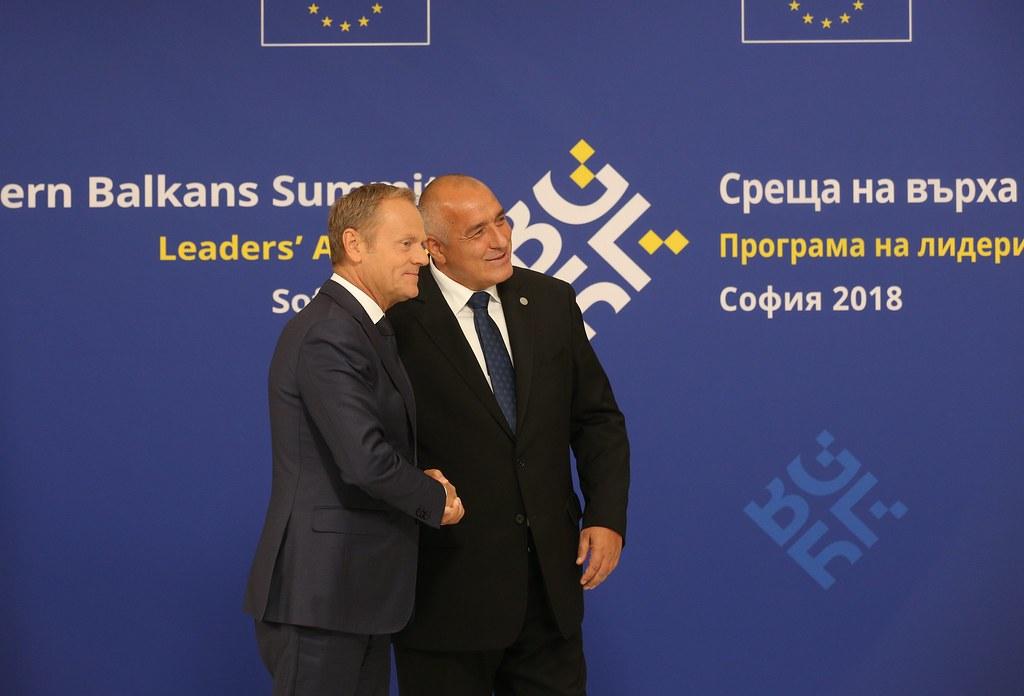 EU – Western Balkans Summit: Handshake