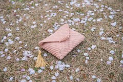 Sakura Flavoured Crocheted Clutch