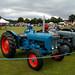 Antique Tractors in a row