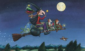 Julia Donaldson and Axel Scheffler, Room on the Broom