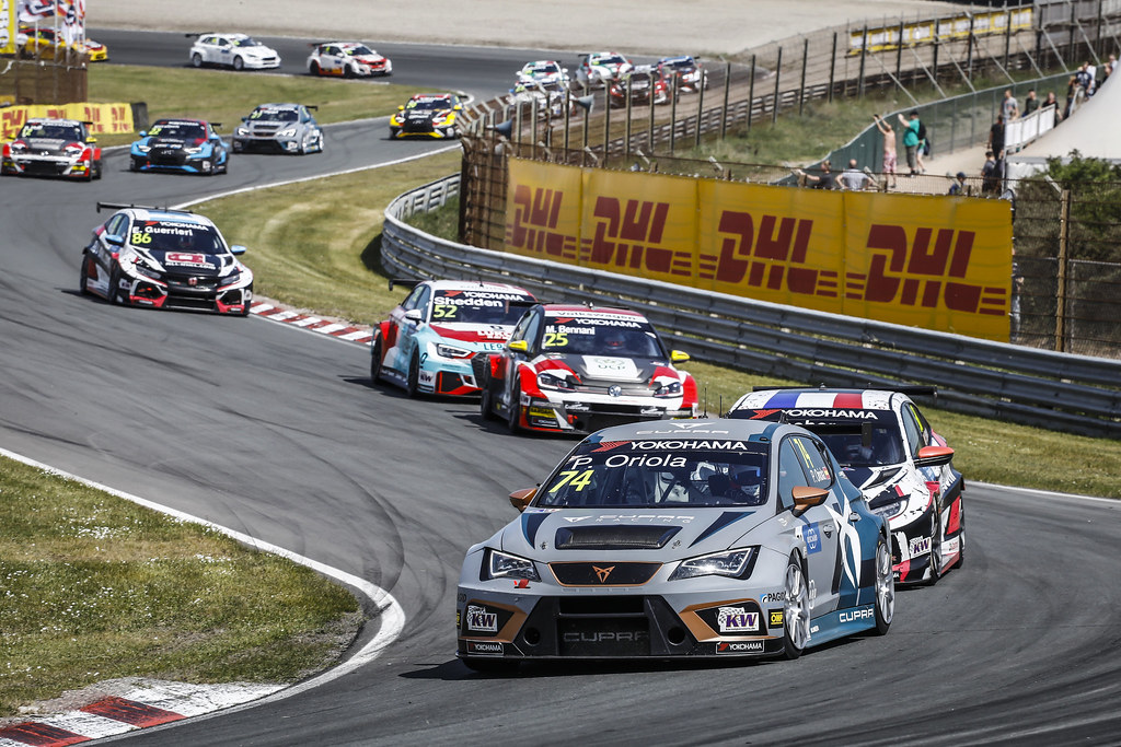 74 ORIOLA Pepe, (esp), Seat Cupra TCR team Oscaro by Campos Racing, action during the 2018 FIA WTCR World Touring Car cup of Zandvoort, Netherlands from May 19 to 21 - Photo Francois Flamand / DPPI