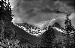 North Cascades Storm by Hart Gately HM Monochrome Print of the Year