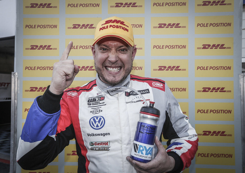 HUFF Rob, (gbr), Volkswagen Golf GTI TCR team Sebastien Loeb Racing, portrait, pole position 1, during the 2018 FIA WTCR World Touring Car cup of Zandvoort, Netherlands from May 19 to 21 - Photo Jean Michel Le Meur / DPPI