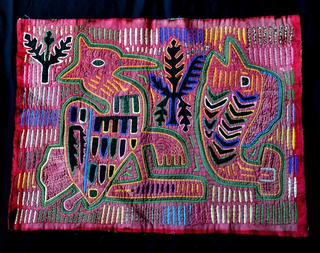 Mola Guna Kuna Panama Textiles