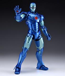 S.H.Figuarts 《鋼鐵人》鋼鐵人 馬克3 「藍匿蹤版本」TAMASHII COMIC-CON會場先行販售!アイアンマン マーク3 -ブルーステルス-