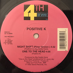 POSITIVE K:NIGHT SHIFT(LABEL SIDE-B)