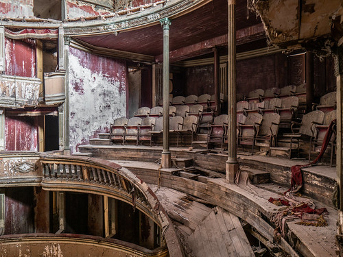 Abandoned theater