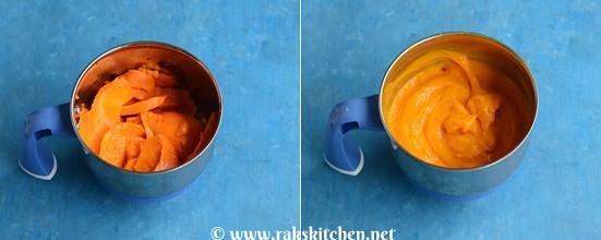 Mango katli preparation 2