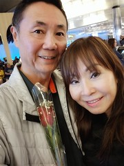 After being separated for two weeks, my wife has finally returned home from Saigon... Yes!
