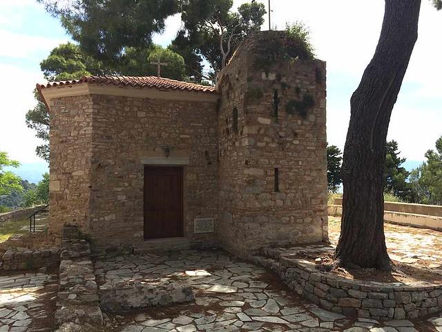 church of Profitis Ilias inside the castle IMG_1701
