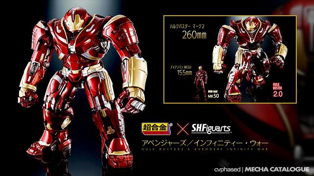 Chogokin × S.H.Figuarts Hulkbuster Mark 2