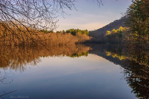 smack53 wanaquereservoir water lake reservoir reflections trees mountains wanaque newjersey springtime spring nikon d100 nikond100