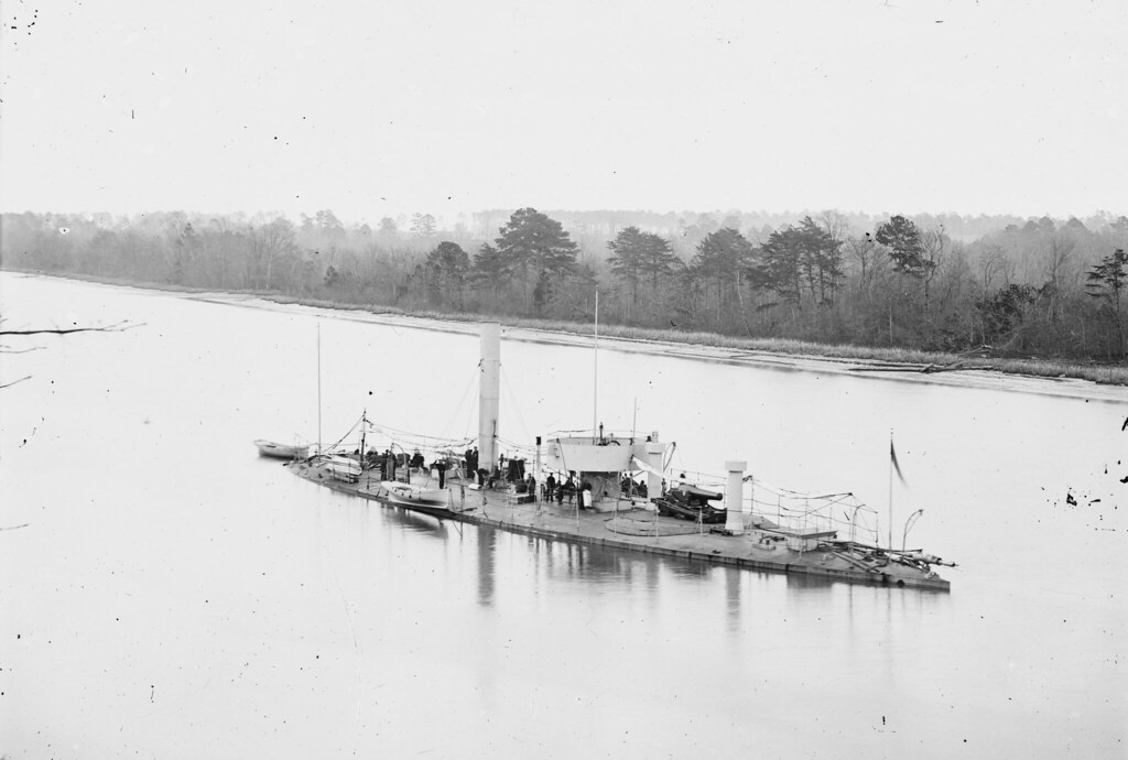 James River, Va. U.S.S. Casco, light-draft monitor. 1860-65
