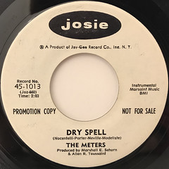 THE METERS:DRY SPELL(LABEL SIDE-B)