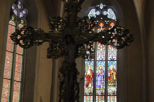 in Morestel church