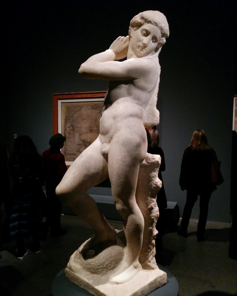 Apollo-David (unfinished) #newyorkcity #newyork #metmuseum #metmichaelangelo #michaelangelo #sculpture #latergram
