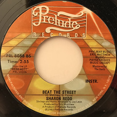 SHARON REDD:BEAT THE STREET(LABEL SIDE-B)