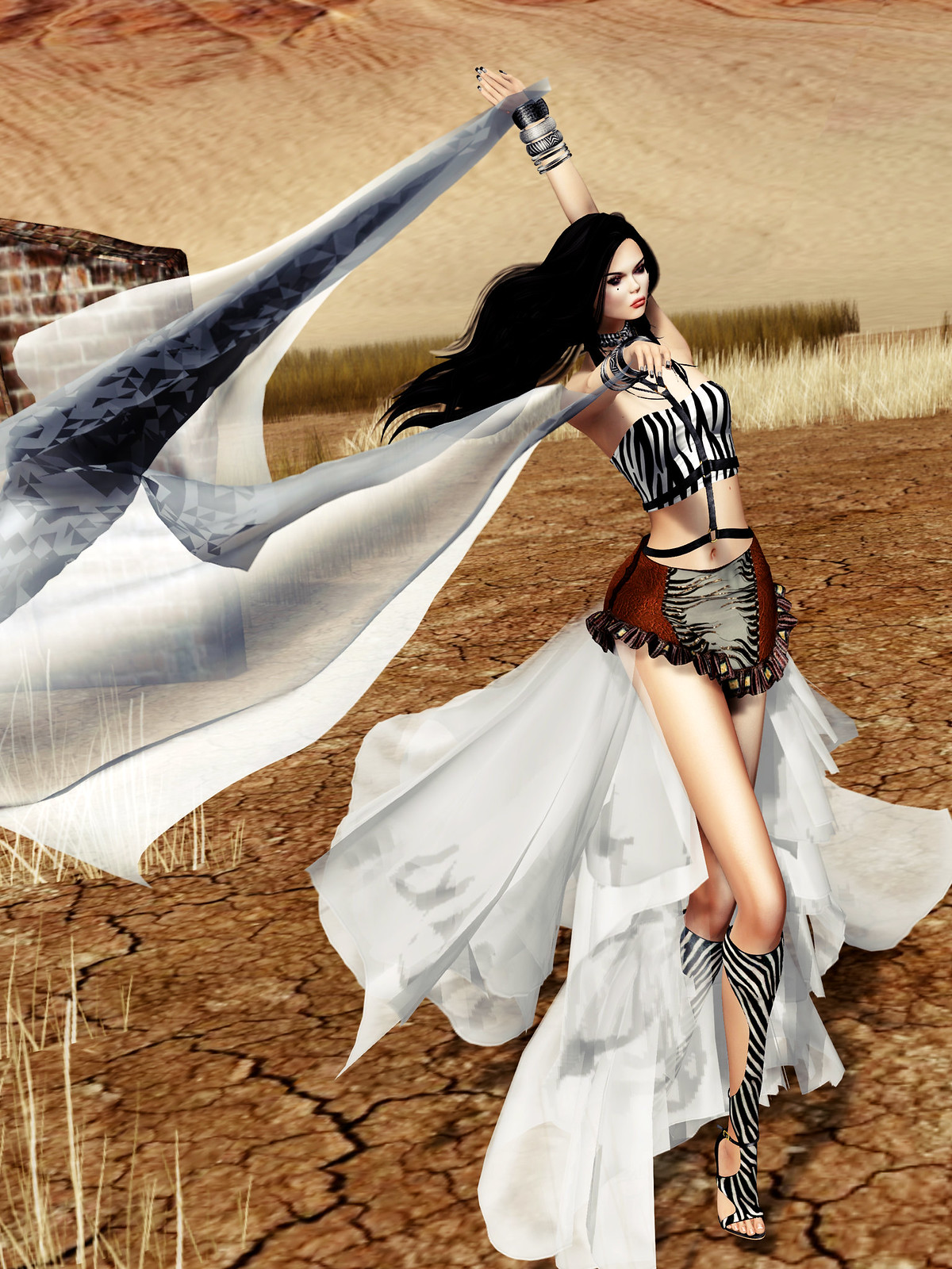 MISS SL ♛ Japan 2018 – Animal Couture