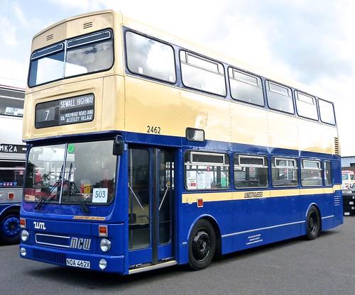 NOA 462X 'West Midlands PTE' No. 2462 MCW DR102/27 Metrobus 2 on Dennis Basford's railsroadsrunways.blogspot.co.uk'