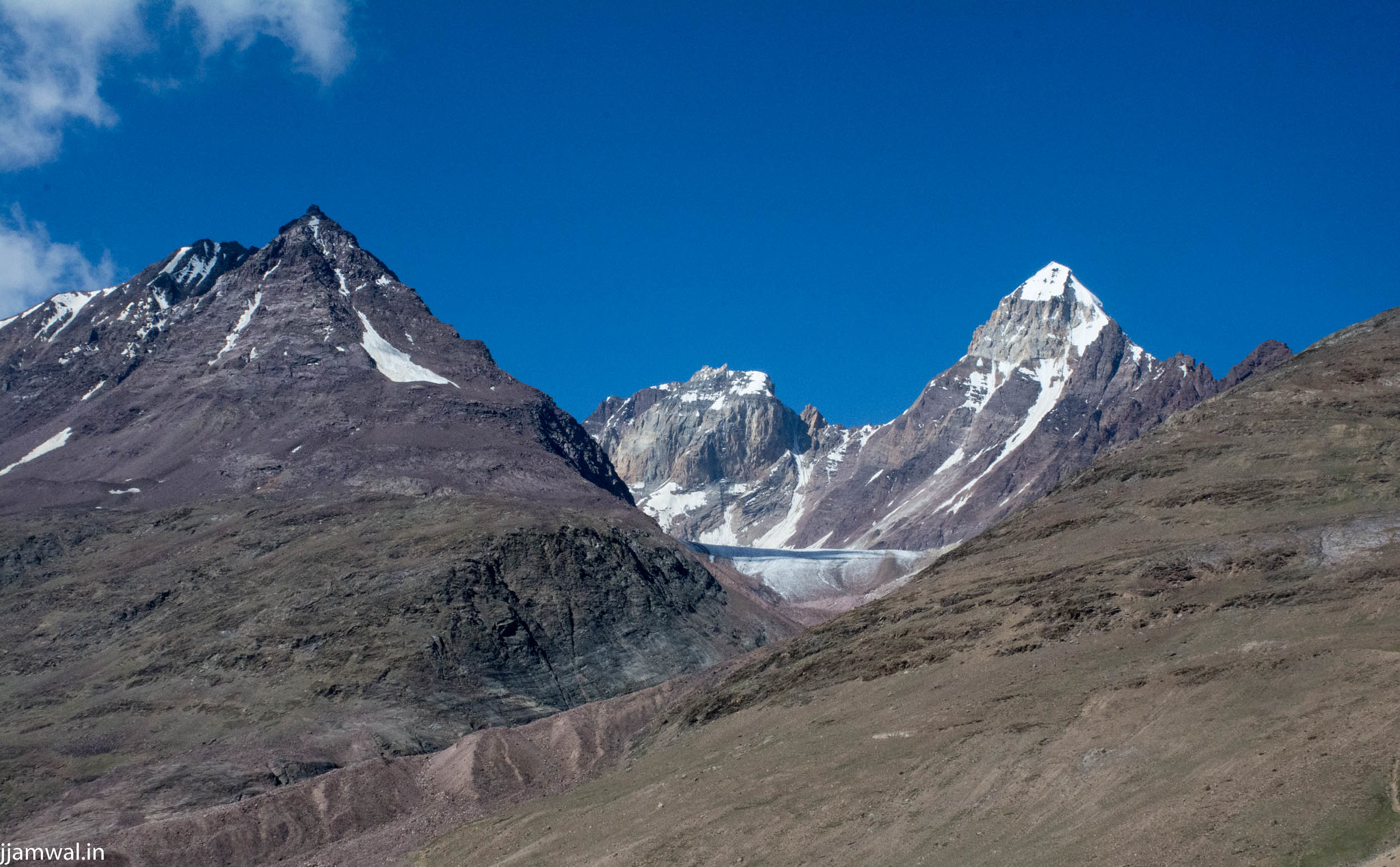 Quite a lot of Unnamed mountain peaks and glaciers