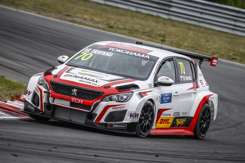 70 HOMOLA Mato, (svk), Peugeot 308 TCR team DG Sport Competition, action during the 2018 FIA WTCR World Touring Car cup of Zandvoort, Netherlands from May 19 to 21 - Photo Francois Flamand / DPPI