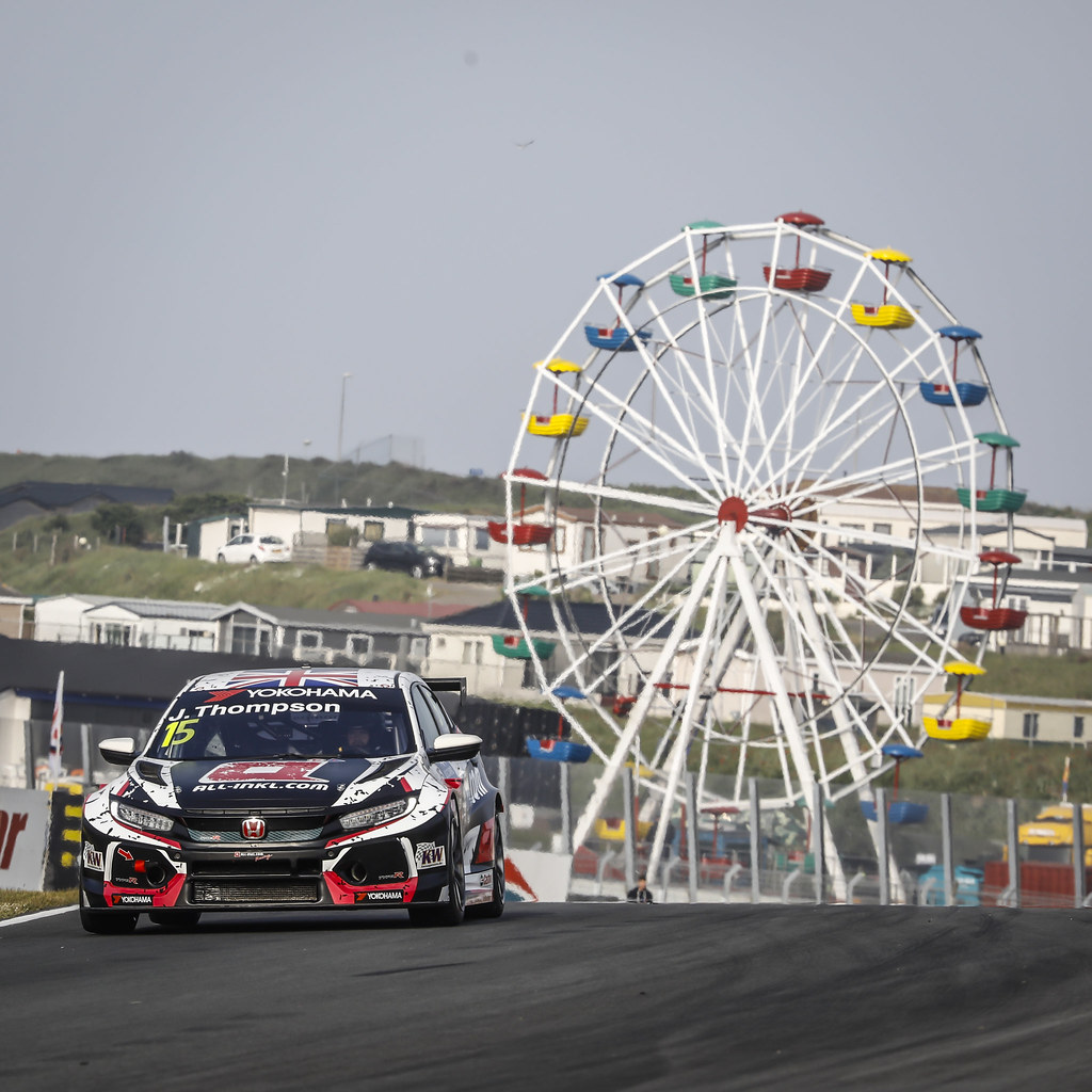 15 THOMPSON James, (gbr), Honda Civic TCR team ALL-INKL.COM Munnich Motorsport, action during the 2018 FIA WTCR World Touring Car cup of Zandvoort, Netherlands from May 19 to 21 - Photo Francois Flamand / DPPI