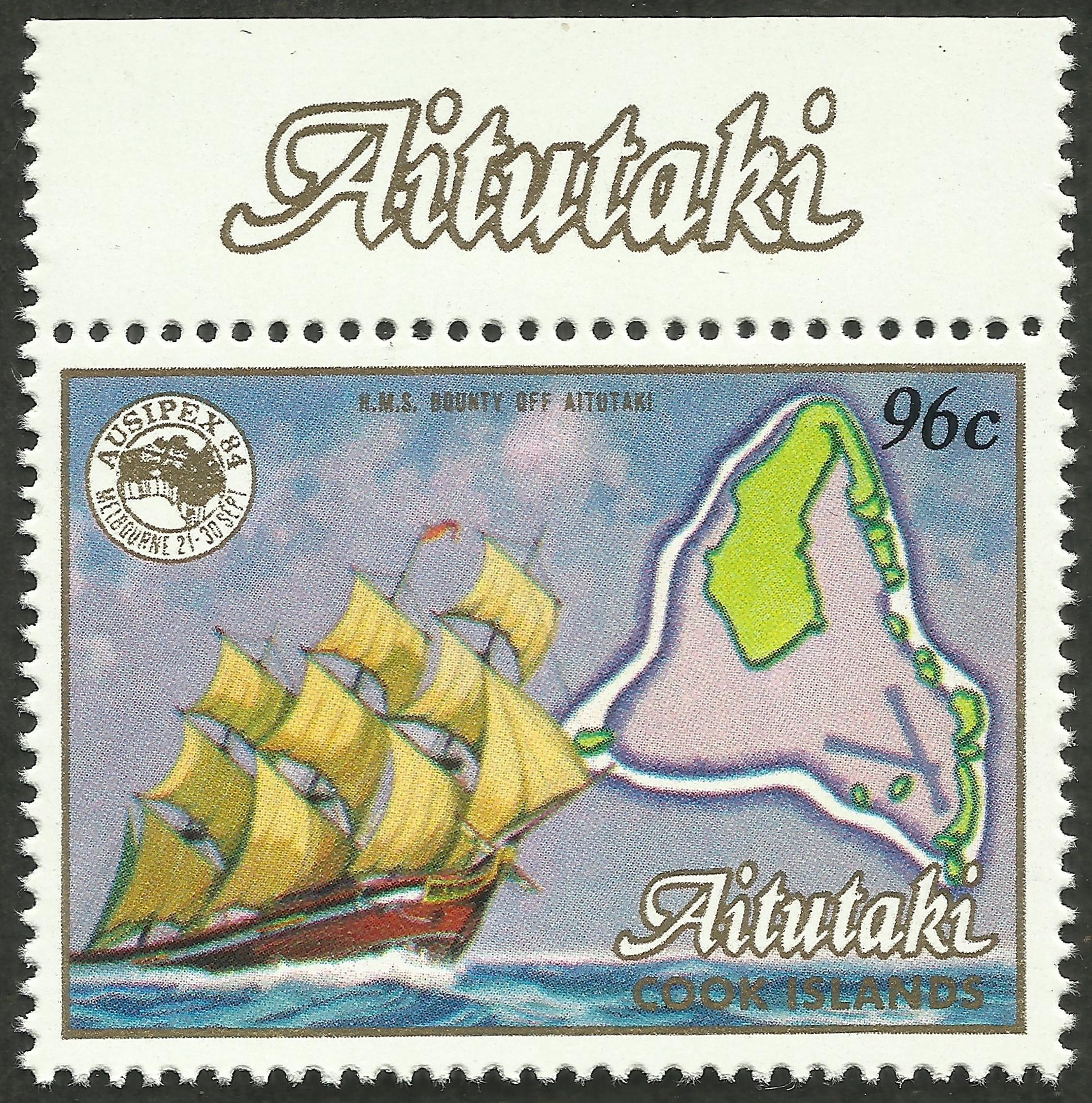 Aitutaki - Scott #352 (1984)