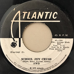 AWB:SCHOOL BOY CRUSH(LABEL SIDE-A)