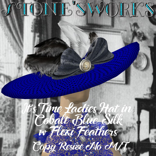 Its Time Ladies in Cobalt Blue Stone's Works_texture - TeleportHub.com Live!