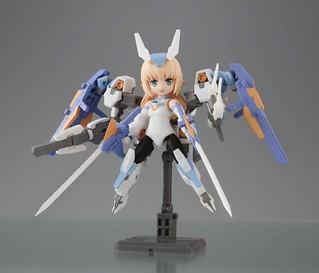 『Desktop Army』 x『Frame Arms Girl 骨裝機娘』KT-240f 芭莎菈露多系列(バーゼラルドシリーズ)